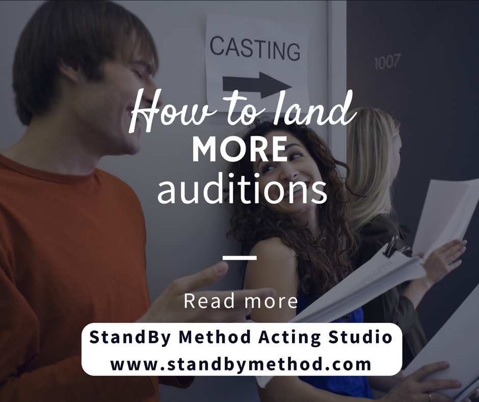How to land more auditions
