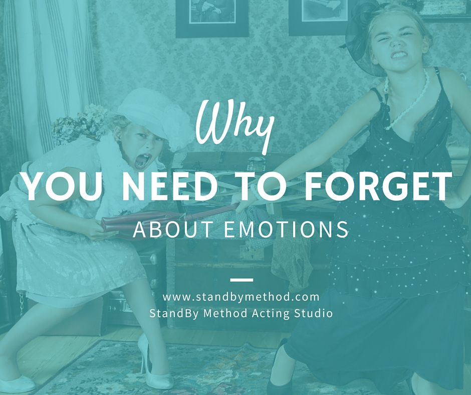 Why you need to forget about emotions