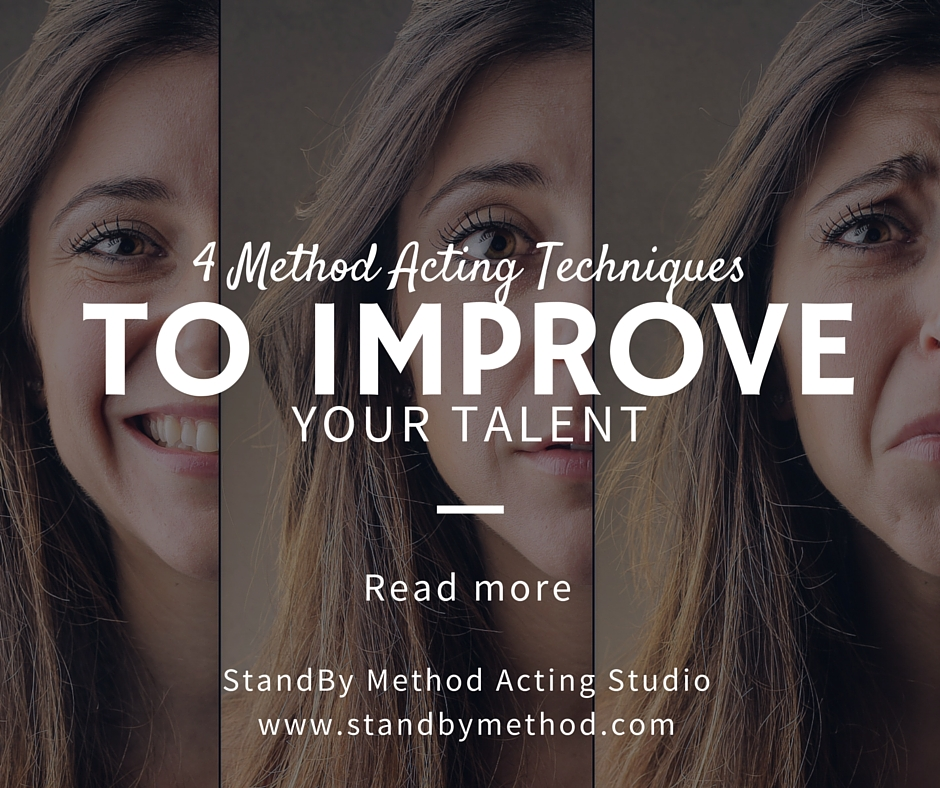 4 Method Acting Techniques to improve your talent