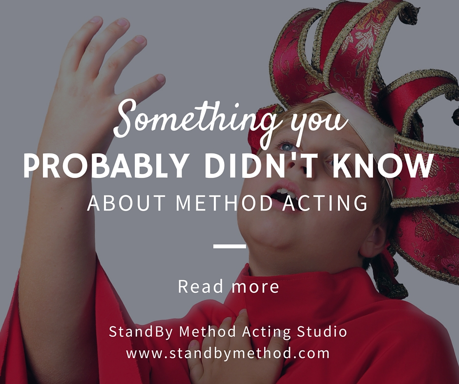 Something you probably didn't know about Method Acting