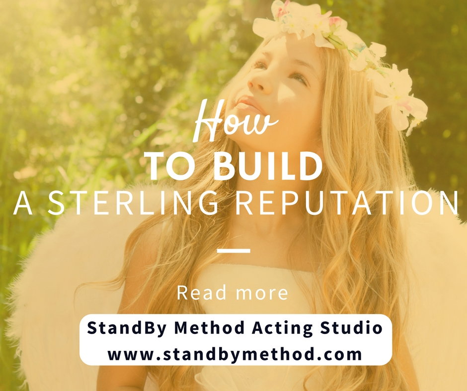 How to build a sterling reputatiom