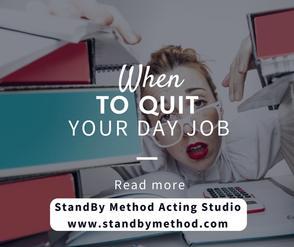 When to quit your day job