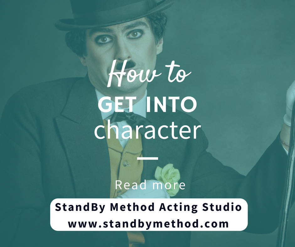 How to get into character
