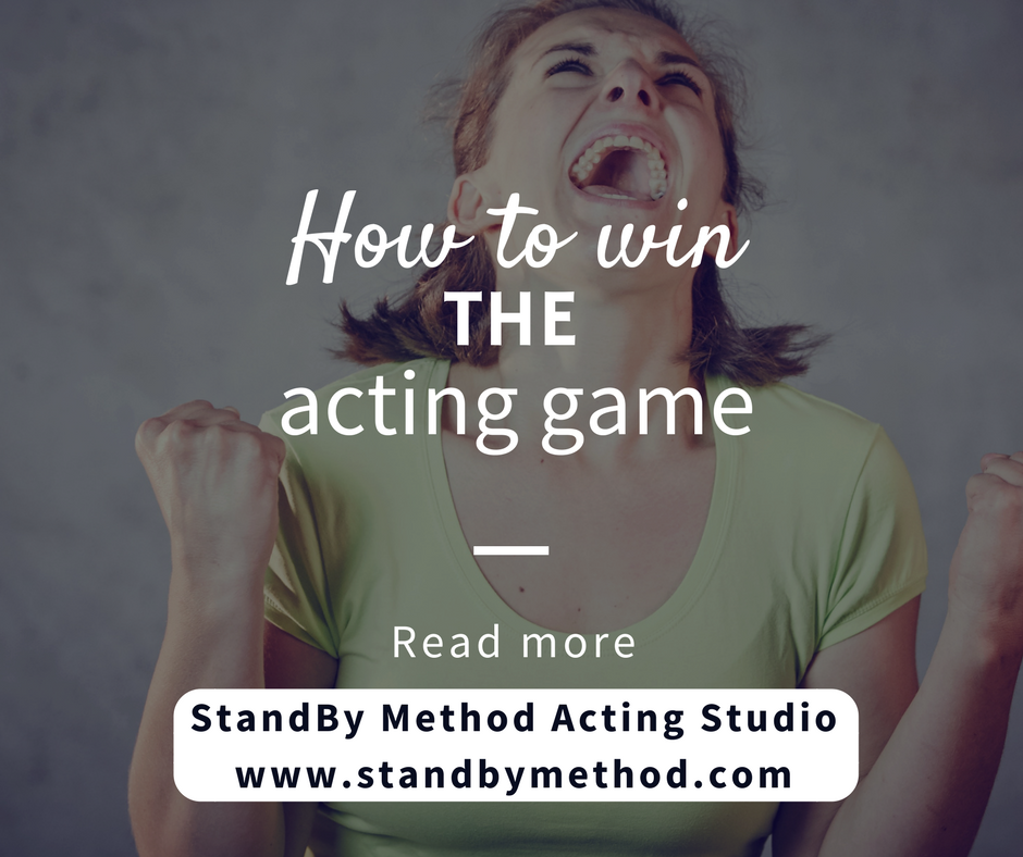 How to win the acting game