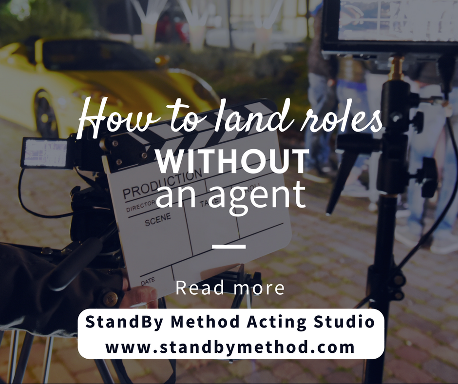 How to land roles without an agent