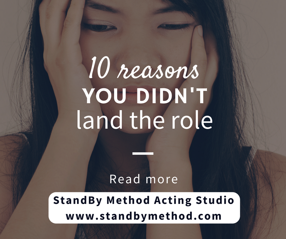 10 reasons you didn't land the role
