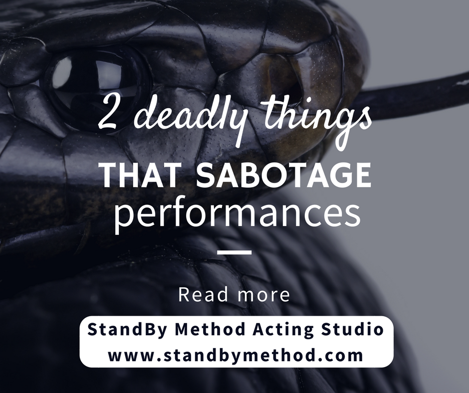 Two deadly things that sabotage performances