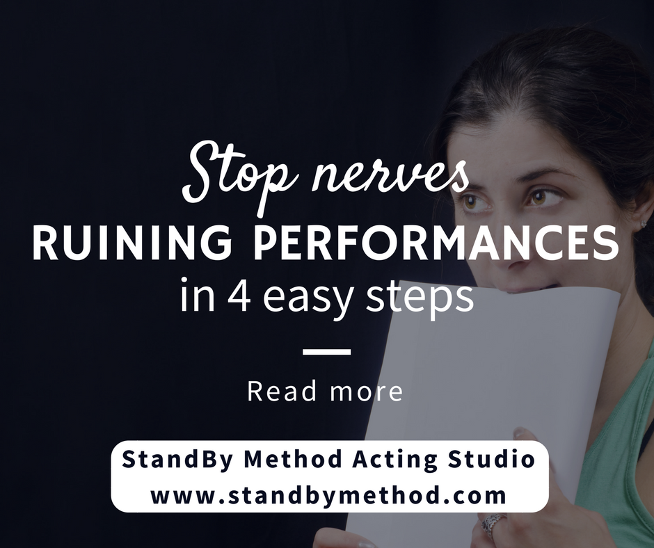 Stop nerves ruining performances in 4 easy steps