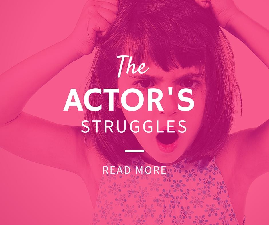 The actor's struggles