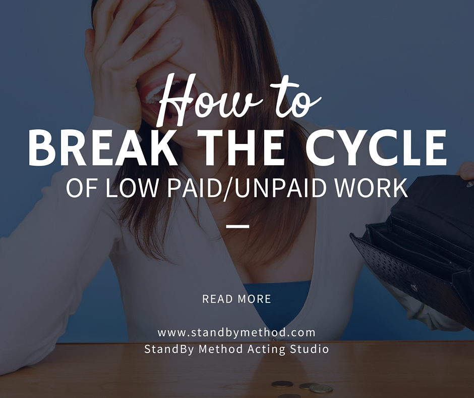 How to break the cycle of low paid/unpaid work