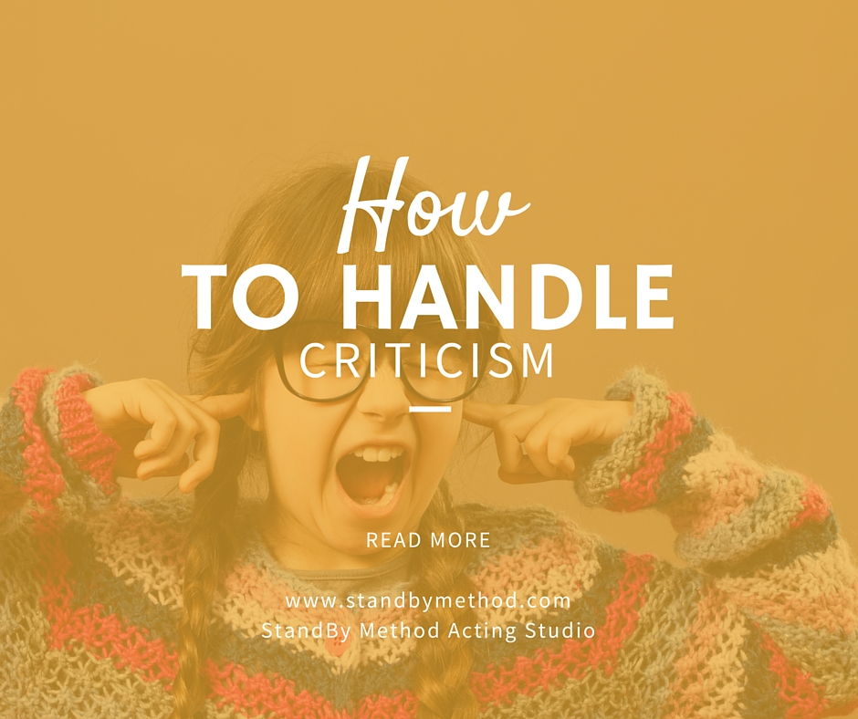 How to handle criticism