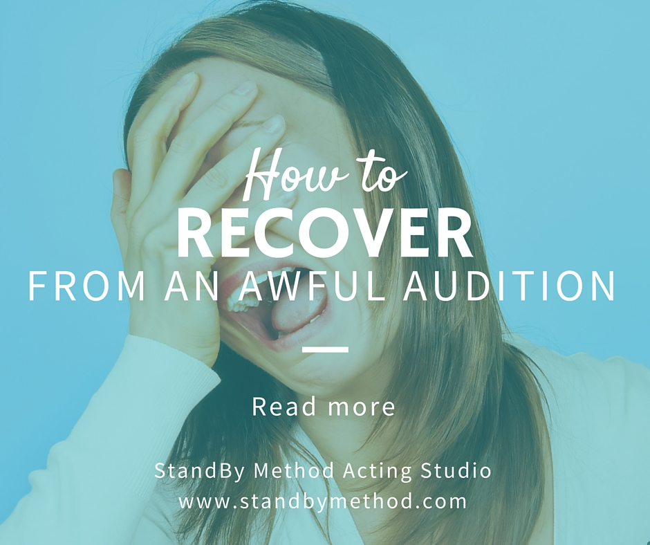 How to recover from an awful audition