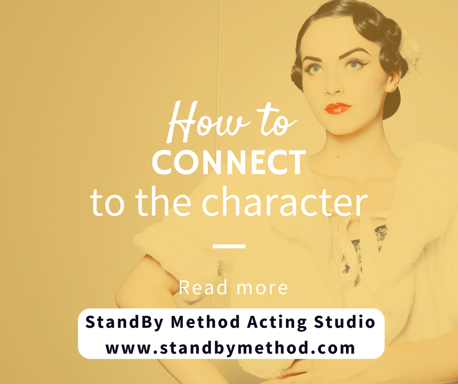 How to connect to the character