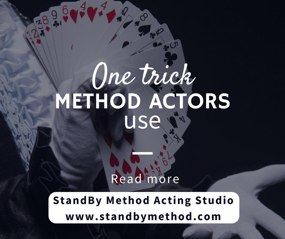 one-trick-method-actors-use