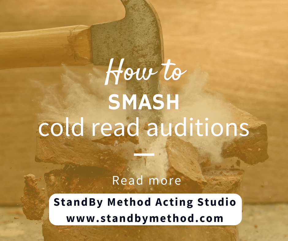 How to smash cold read auditions