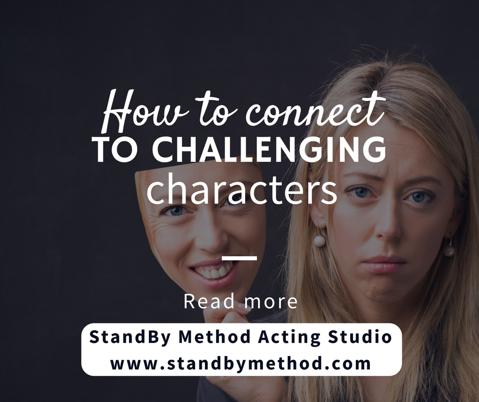 How to connect to challenging characters
