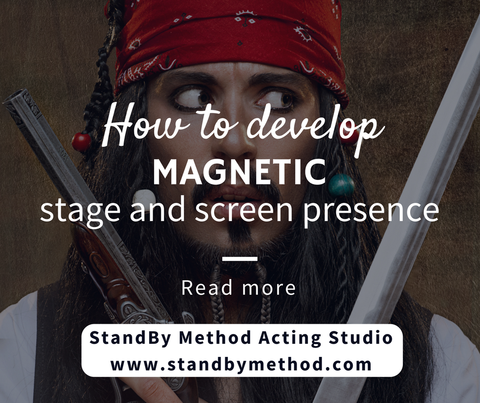 How to develop magnetic stage and screen presence
