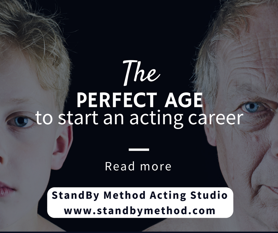 The perfect age to start an acting career