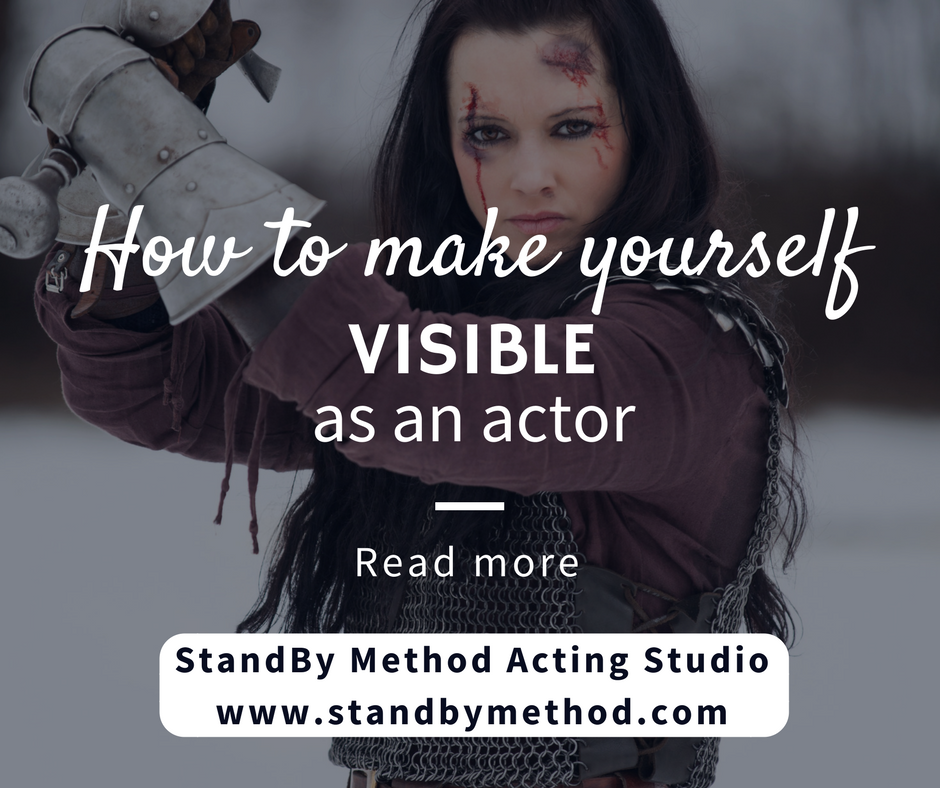How to make yourself visible as an actor