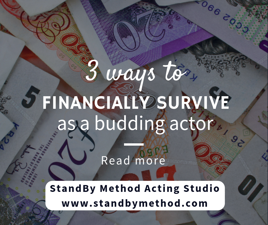 3 ways to financially survive as a budding actor